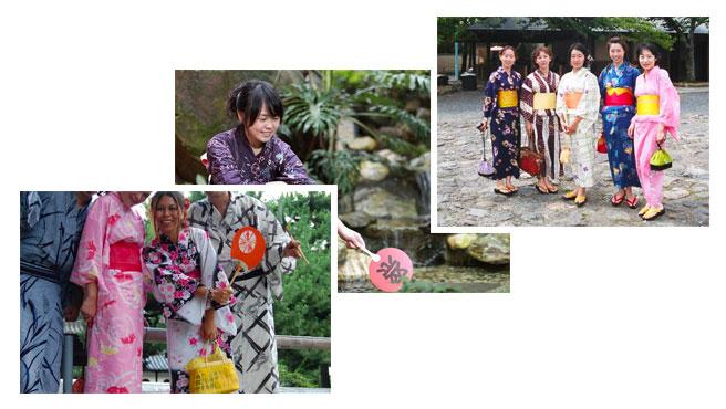 Kimono japonais pour femme