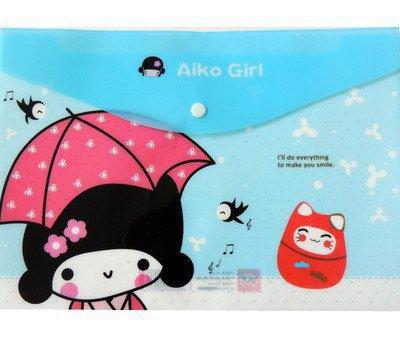 Chemise Aiko Girl Bleue