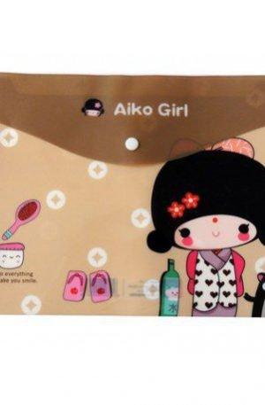 Chemise Aiko Girl Chocolat