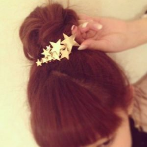 Barrette Gold Star