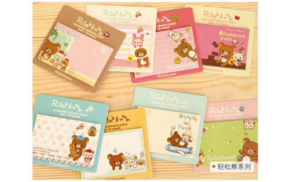 Small Sticky Note Rilakkuma