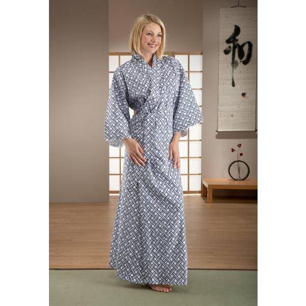 Kimono Japonais en coton pour femme