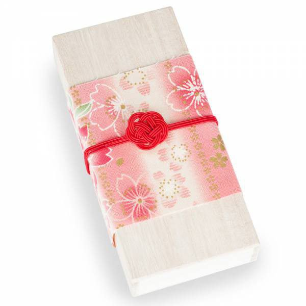 Ensemble encens japonais fleurs de cerisiers avec support