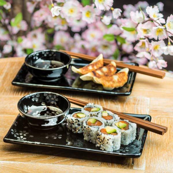 Ensemble suhi japonais Ginsai Sakura