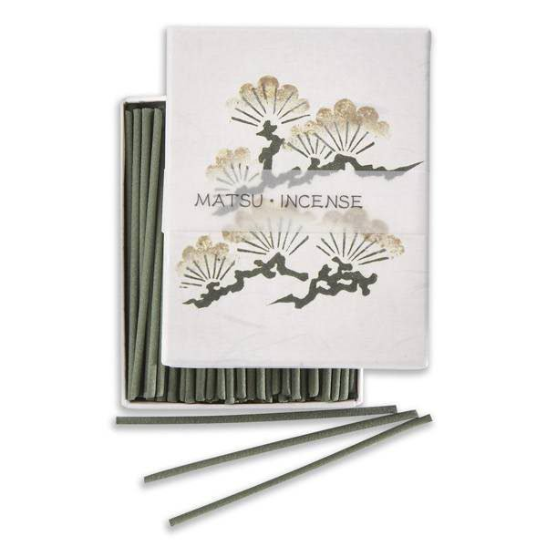 90 encens japonais Hanga senteur pin