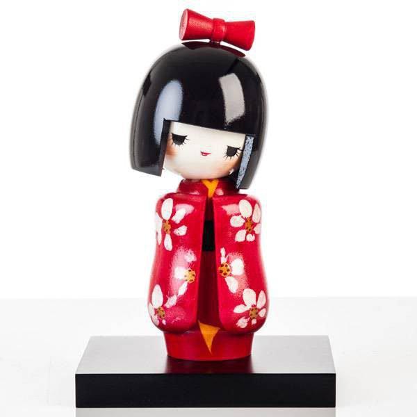 Poupée japonaise Kokeshi Jeune fille