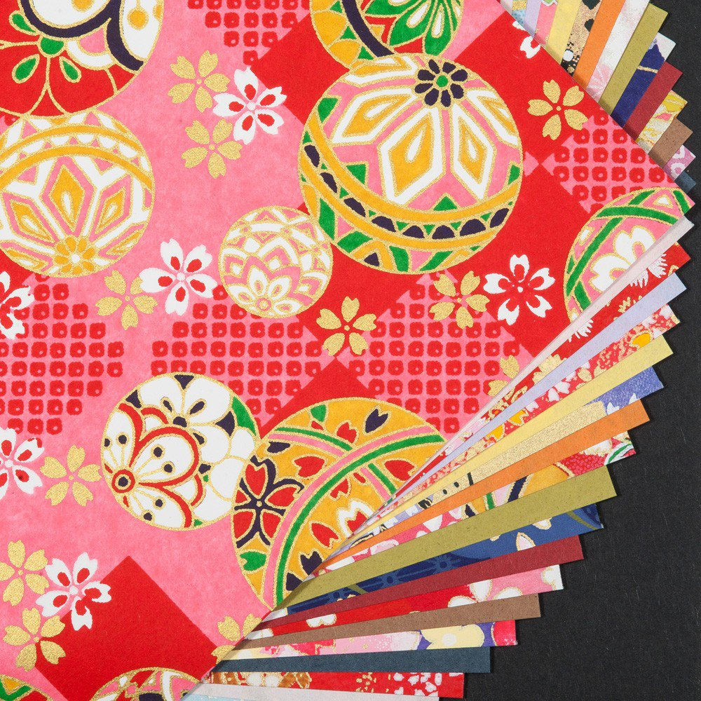 Grand papier origami washi japonais