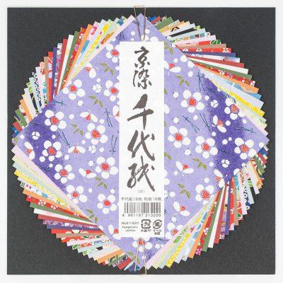 Papier d'origami de taille moyenne washi