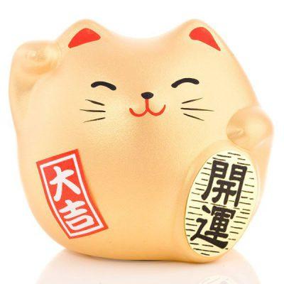 Petit chat chanceux Fucky Shui de la bonne fortune