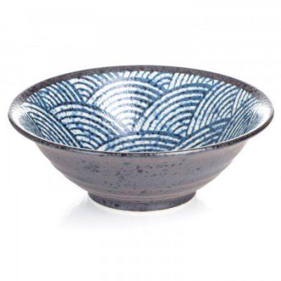 bol japonais Seikaiha pour les nouilles Ramen