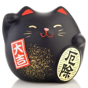 Petit chat chanceux Feng Shui de la bonne santé