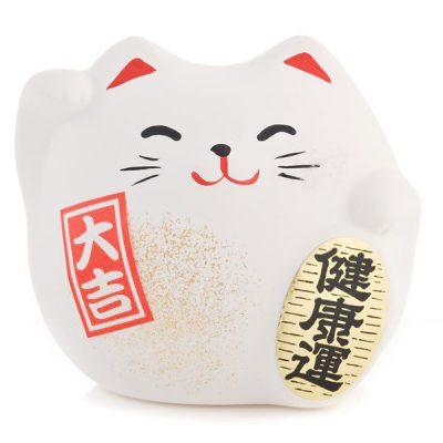 Petit chat chanceux Feng Shui du bonheur