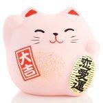 Petit chat porte bonheur Feng Shui de l