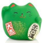 Petit chat porte bonheur Feng Shui des études