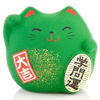Petit chat chanceux Feng Shui des études