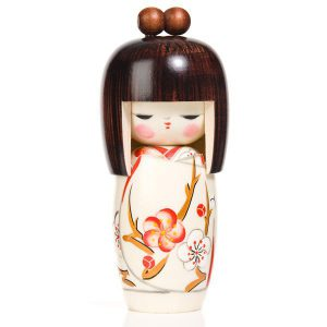 Poupée authentique Kokeshi Rêve de Printemps japonaise