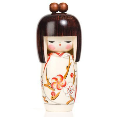 Poupée authentique Kokeshi Rêve de Printemps japonaise