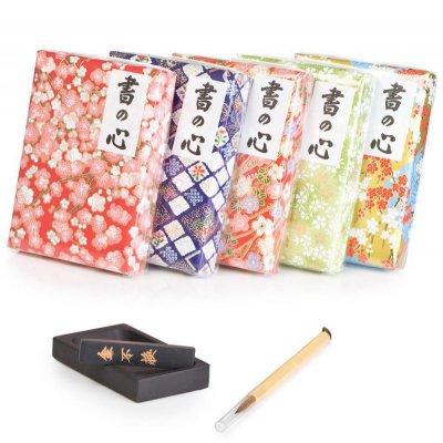 Set de calligraphie japonais papier Washi