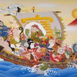 Les Shichifukujins les sept divinités du bonheur