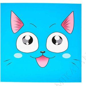 Toile imprimée inspirée de Happy de Fairy Tail