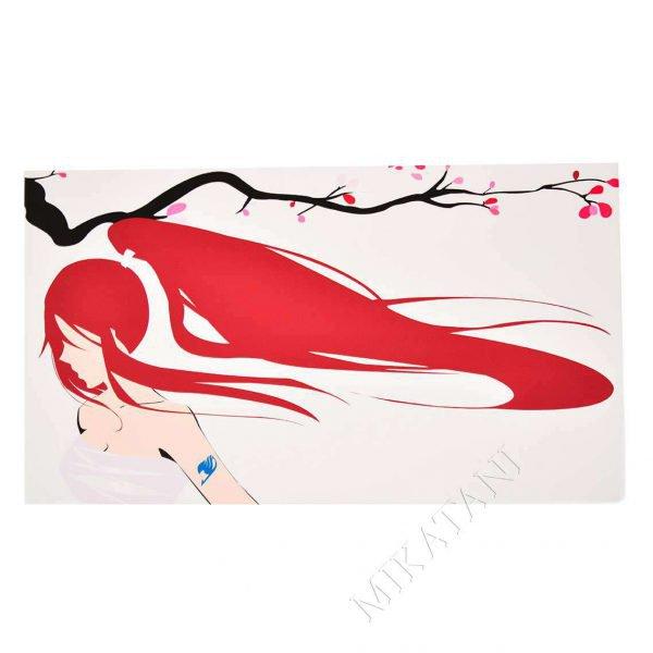 Toile imprimée inspirée de Erza de Fairy Tail