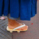 Les sandales japonaises geta, Zori, Okobo ou Setta