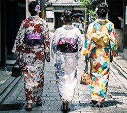 kimono japonais femme