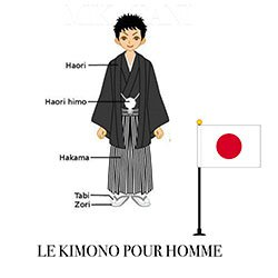 kimono homme