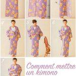 Comment mettre un kimono ?