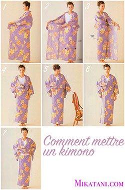 comment un kimono japonais ?