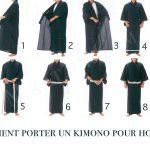 Comment porter un kimono pour homme ?
