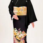 Qu'est-ce qu'un kimono kurotomesode ?