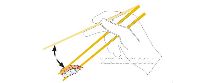 tenir baguettes japonaises 6