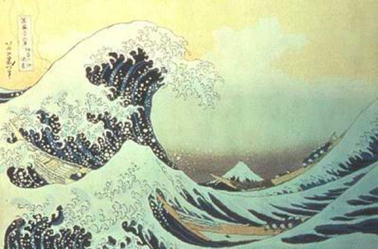grande vague estampe japonaise